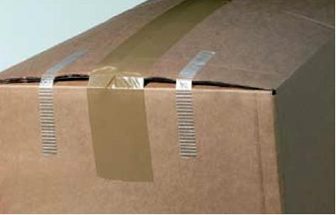 Ojačavanje pakovanja sa tesa®  4579, veoma snažnom tesa trakom ojačanom  staklenim nitima.